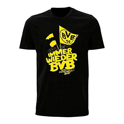 BVB-T-Shirt zum DFB-Pokalfinale 2017 Schwarz 3XL