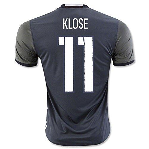 adidas Herren UEFA Euro 2016 DFB Auswärtstrikot Replica (Klose 11, M)