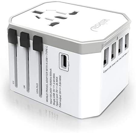 Universal Travel Adapter Tesyker International Power Adapter Universal Adapter with High Speed product image