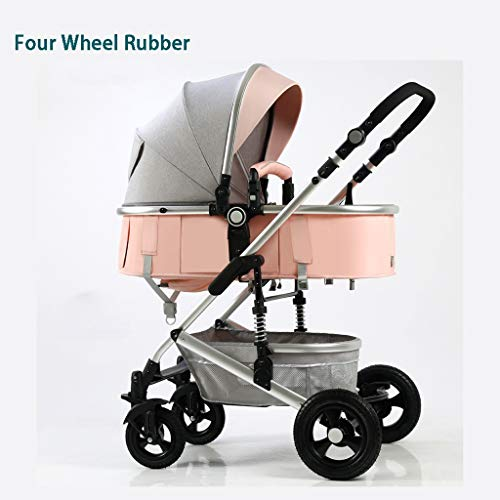 Buy STRR Baby Stroller, Convertible Reclining Stroller, Foldable and Portable Pram Carriage Pushchai...