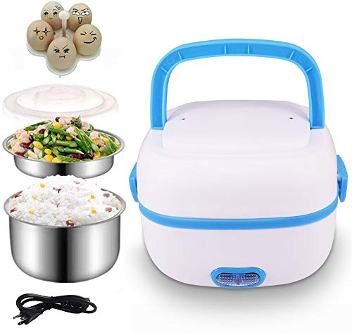 Sethruki Electric Lunch Box Heater Portable Food Warmer Bento Food...