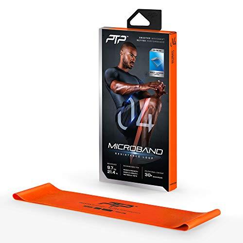 PTP Unisex– Erwachsene Fitnessband, ORANGE, 9,7kg