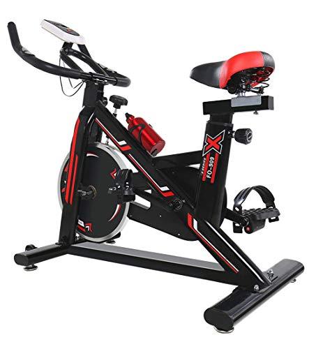 CHAOBANG Bicicleta estática hogar, Bicicleta de Asiento para el hogar con Monitor Digital, Entrenador de piernas Multifuncional, Súper silencioso Entrenador de Bicicleta 150 kg de Carga