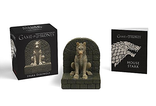 Game Of Thrones. Stark Direwolf (Running Press Miniature)