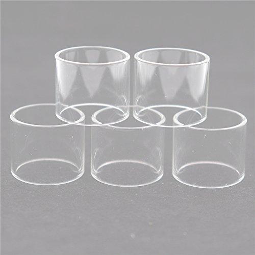 RUIYITECH Glastank-Ersatzglas aus Pyrex-Glas für Smok TFV12 Baby Prince TFV8 X Baby Vape Pen 22 TFV8 Big Baby, gerade, 5 Stück tfv4 mini