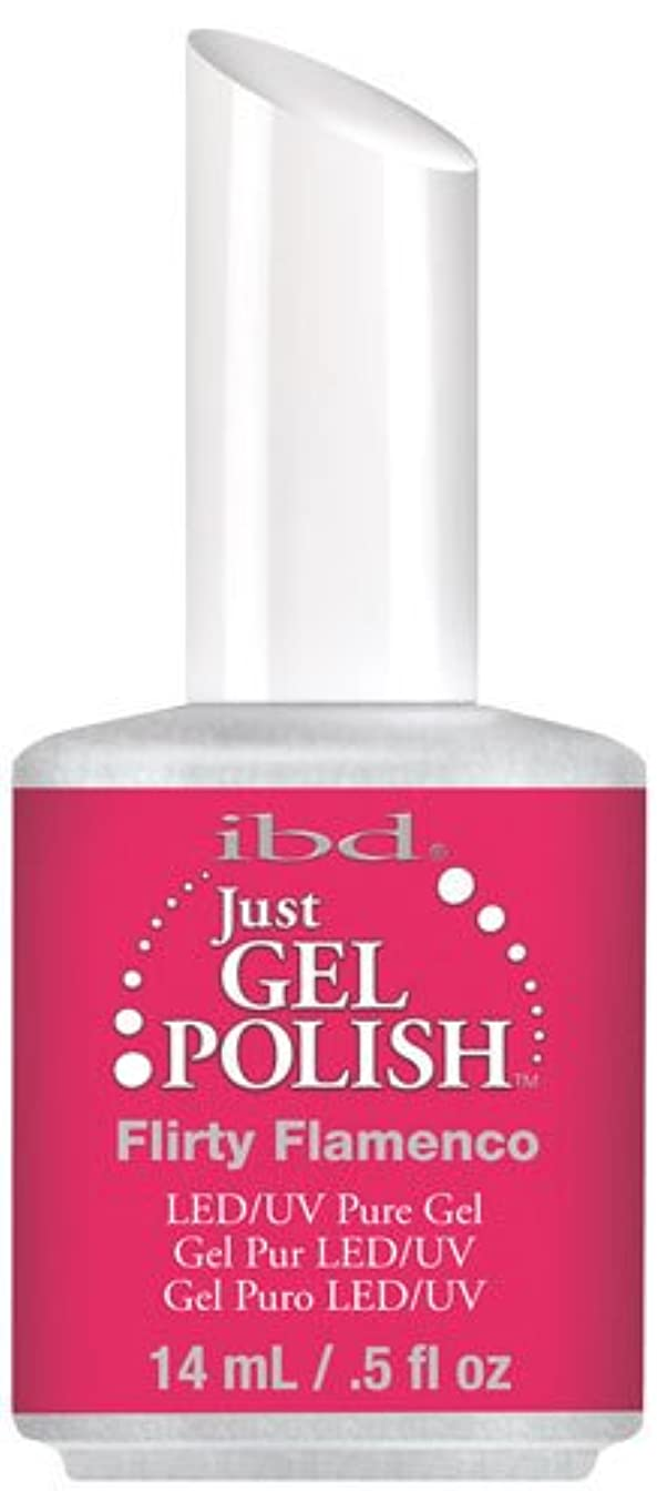 恥無傷ルートIBD Just Gel Polish - Flirty Flamenco - 0.5oz / 14ml