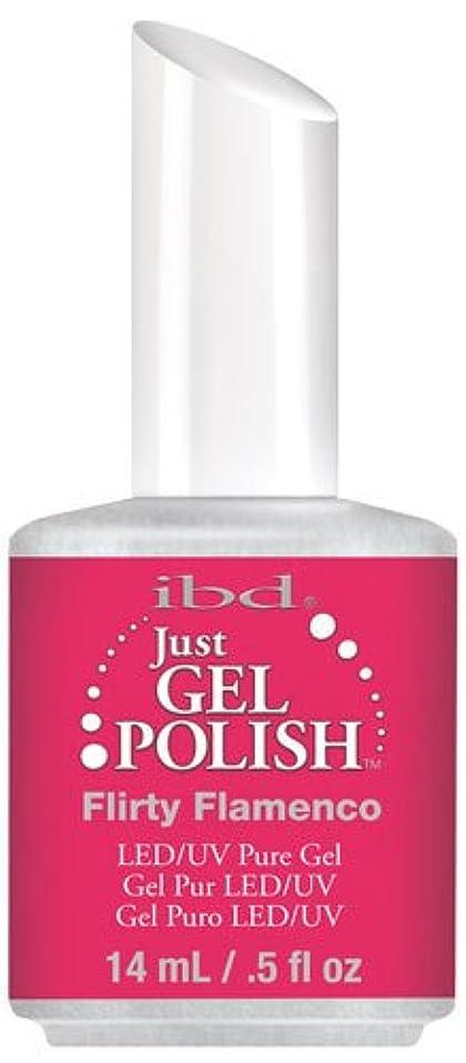 市町村宝石歌詞IBD Just Gel Polish - Flirty Flamenco - 0.5oz / 14ml