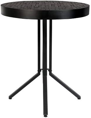 Felis Lifestyle Counter Table Maze Round Black, Taille Unique