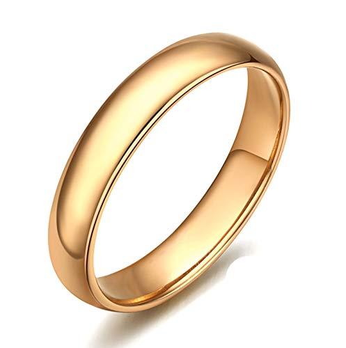 Socoz 18K Gold Rings Diamond Engagement,Poliren Gold Wedding Rings Gold for Women