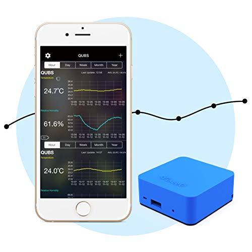 ViseeO QUBS Smart Temperature & Humidity Data Logg