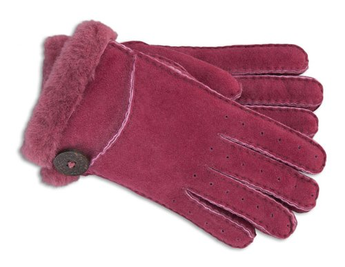 Hot Sale UGG Australia Womens Bailey Glove Sangria Size Medium