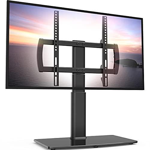 Supporto da Tavolo con Piedistallo Girevole Regolabile in Altezza per TV 27 -55  LCD LED   Plasma