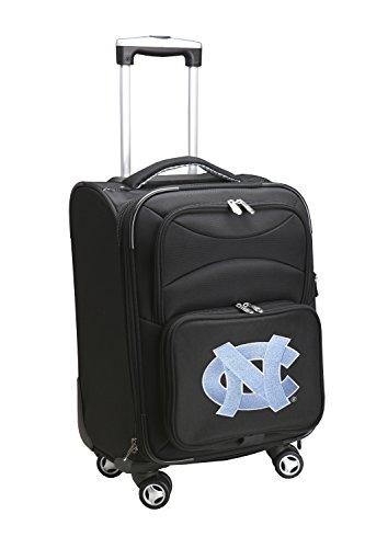 Denco NCAA North Carolina Tar Heels Domestic Carry-On Spinner, 20-Inch, Black