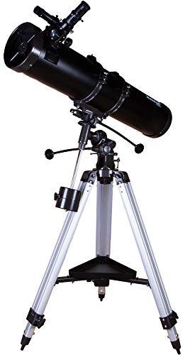 Telescopio Levenhuk Skyline PLUS 130S – Potente Riflettore Newtoniano Su Montatura EQuatoriale per Osservazioni del Profondo Cielo