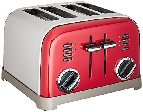 Cuisinart/4-fette metal Classic tostapane 4-Slice Metallic Red
