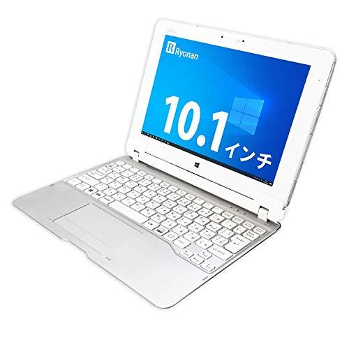 富士通 10.1インチ タブレットパソコン Arrows Tab Q584 CPU:Intel Atom Z3770 メモリ:4GB SSDの:64GB Win10 Office Wi-Fi カメラ 高解像度(2560×1600) 2in1 純正専用キーボード&タッチペン付き (整備済み品)