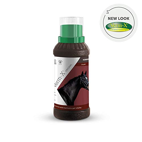 Verm-X flüssigkeit für Pferde und Ponys, 1 Liter - 1 Litre