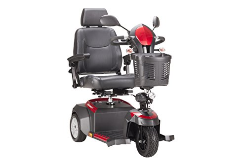 Review Drive Medical Ventura Power Mobility Scooter, 3 Wheel, 18 Captains Seat