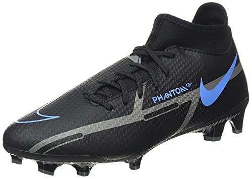 Nike Unisex Phantom GT2 Academy Dynamic Fit FG/MG Fussballschuh, Black Iron Grey, 43 EU