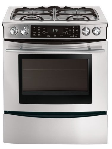 'Jenn-Air JDS8850BD 30'' Slide-In Dual-Fuel Range, 4 Sealed Burners,...