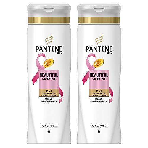 Pantene Pro-V 2 in 1 bello Lunghezze Shampoo e Balsamo 12,5 once (2 pezzi)