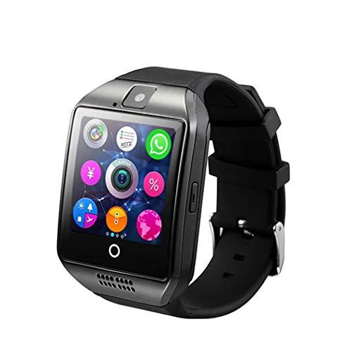 Reloj Inteligente Bluetooth, Reloj Inteligente portátil con Monitor de Ritmo cardíaco Correa Rastreador de Ejercicios con cronómetro, Monitor de sueño Actividad de Pulsera para Smartphones And