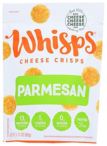 Cello Whisps Pure Parmesan Cheese Crisps, 2.12 Oz