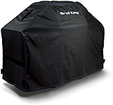 Broil King 68488 Heavy-Duty PVC Polyester Grill Cover,Black