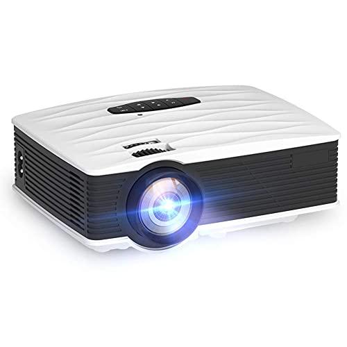 ZHAOHGJ Worth Having - GA9 Mini Proyector 2800 Lumens Native HD 1280x720P WiFi Beamer Portable LED Projectores 3D Home Theatre Cinema Movie Game