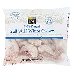 365 Everyday Value, Gulf Wild White Shrimp, 32 oz