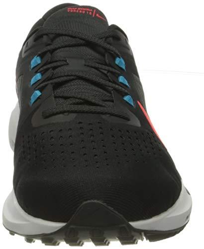 Nike Air Zoom Vomero 15, Zapatillas para Correr Hombre, Off Noir BRT Crimson Lt Blue Fury Particle Grey White, 44.5 EU