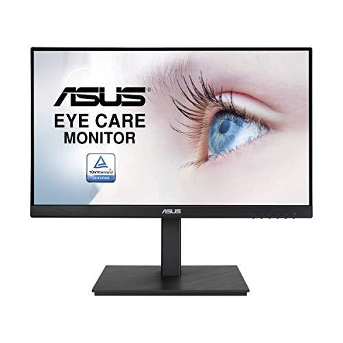 ASUS VA229QSB 54,6cm (21,5 Zoll) Eye Care Monitor (Full HD, IPS, 75Hz, Adaptive-Sync/FreeSync, HDMI, VGA, DisplayPort, Lautsprecher, 5ms Reaktionszeit) schwarz
