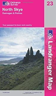 North Skye. Dunvegan and Portree (OS Landranger Map Series) by Ordnance Survey ( 2007 ) Paperback