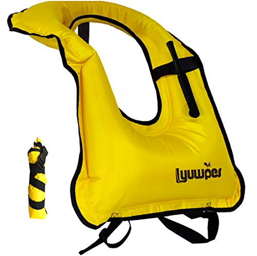Lyuwpes Inflatable Snorkeling Vest