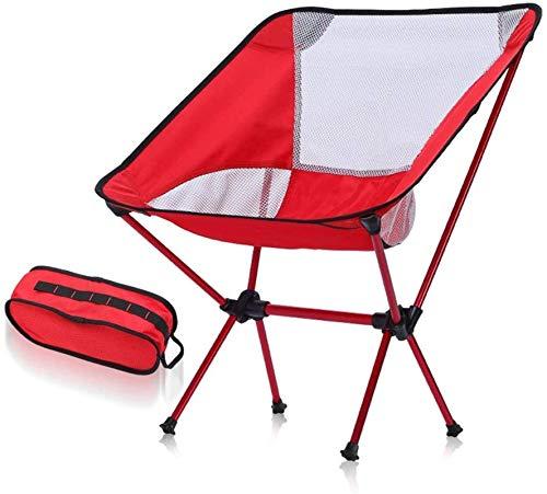 Tumbona de Playa para Exteriores reclinable Silla Mecedora de Camping Ultraligera Tumbona de jardín Mecedora Plegable Asiento reclinable Sling Chair Negro