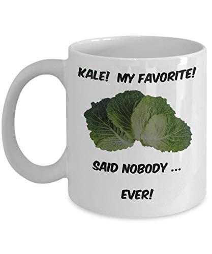 N\A Kale, mi Taza de café Favorita - Taza de té (Blanco)