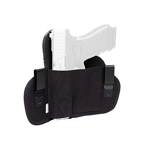 Flyfan IWB Universal Holster, Concealed Carry Gun Holster, Holster for Female/Male Fits Glock 21,23,26,39,42/S&W, M&P Shield/Ruger/Taurus