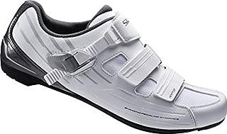 Shimano RP3 Wide Fit, Unisex Adults' Road Biking Shoes, White (white), 8 UK (43 EU)