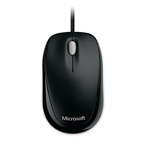 Microsoft U81-00083 Compact Optical Maus 500 USB schwarz