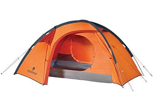 Ferrino Unisex– Erwachsene Trivor Zelt, orange, 2 Personen