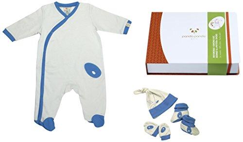 Pandi Panda 1304–005–03 Patati Patata Tapis D'éveil Pantalon avec chaussons intégrés, taille 50/56, 0–3 mois