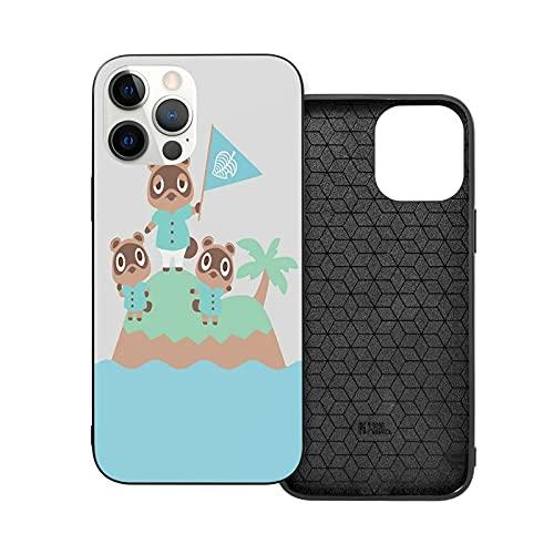 Compatible con iPhone Samsung Xiaomi Redmi Note 10 Pro/Note 9/Poco X3 Pro Funda and Tommy Crossing New Tom Horizons Animal Timmy Cajas del Teléfono Cover
