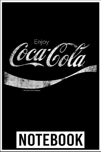 Notebook: Coca-Cola Vintage White Enjoy Logo Premium Graphic notebook 6x9 inch by...