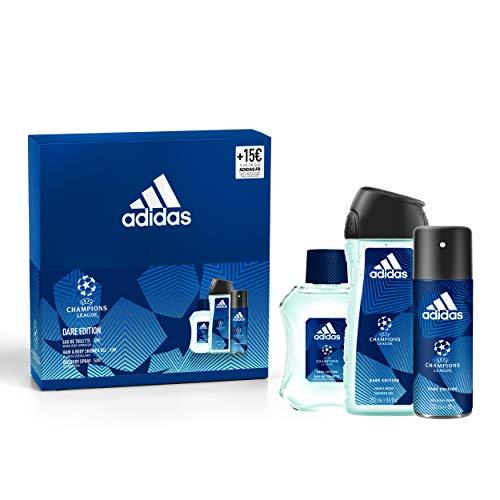 Adidas Coffret Dare Edition 3 Produits Eau de Toilette/Gel Douche/Déodorant/Bon d'Achat 1 unité