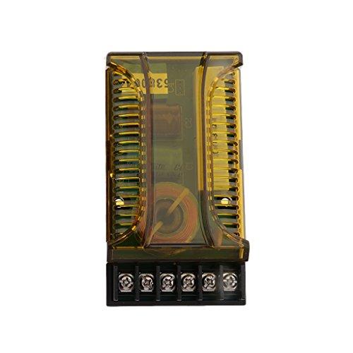 Sharplace Filtres Crossover Distributeur De Fréquence d'impédance 2/4 / 6Ω Vert Noir En Plastique