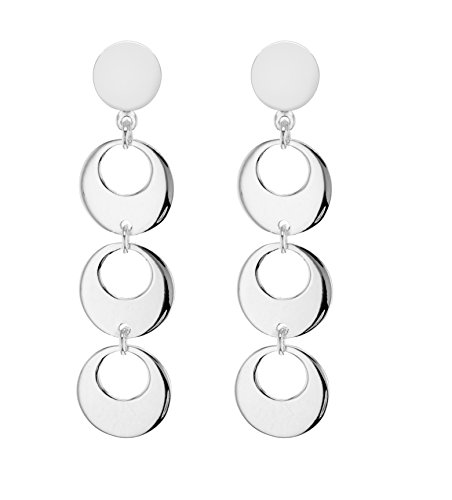 Tuscany Silver 8.56.9079 - Pendientes de plata de ley (925/1000)