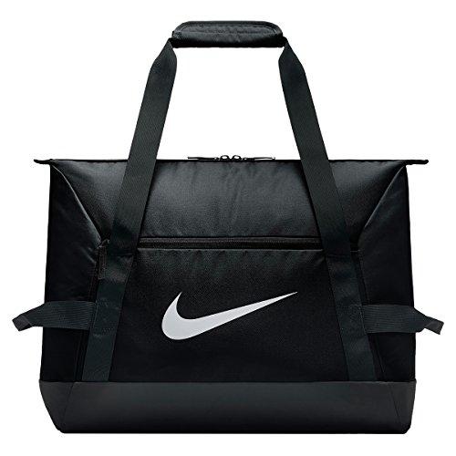 Nike Academy Team S Duff Borsone, Unisex – Adulto, Black/Black/White, Taglia Unica
