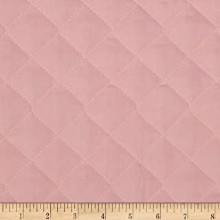 Fabri-Quilt 0269124 Double Sided Quilted Broadcloth Soft Pink Fabric by the Yard