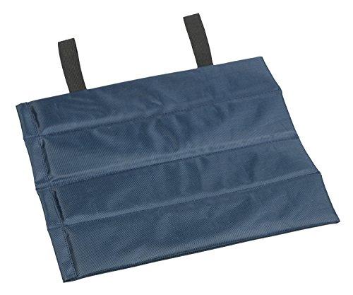 Idena 38195 - Iso Sitzkissen, ca. 30 x 26 cm, ca. 7 mm dick, wärmeisolierend, wasserfest, kompakt und leicht, ideal für Konzerte, Stadion, Camping, Festivals oder im Park