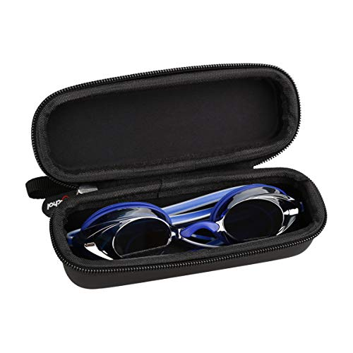 Mchoi Hard Portable Case for Speedo Vanquisher 2.0 Mirrored Swim Goggle(CASE ONLY)